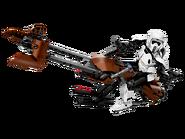 75532 Scout Trooper & Speeder Bike