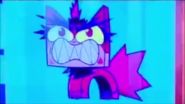Angry kitty cartoon appearence