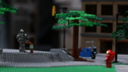 LEGO in The Flash