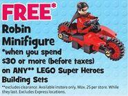 Lego robin cycle