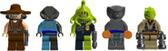 5 of the Bounty Hunters