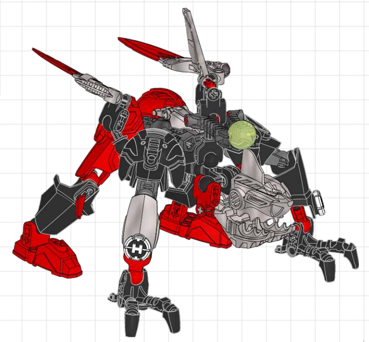 Breakout Villains Combiner Model