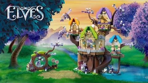 The Elvenstar Tree Bat Attack 41196 – LEGO Elves - Product Animation