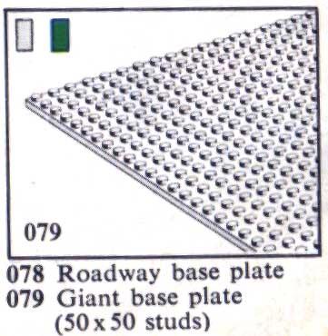 079 Giant Baseplate - Grey