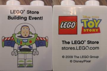 4066pb361 Promotional Buzz Lightyear Duplo Brick