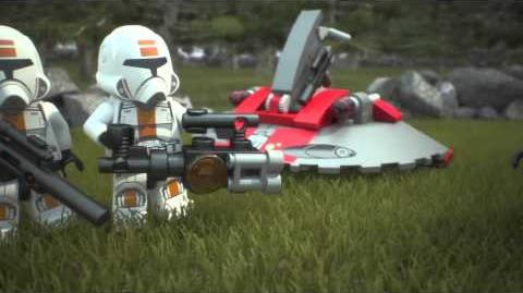 LEGO Star Wars Republic Troopers vs