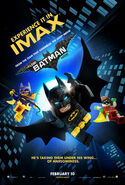 The LEGO Batman Movie Poster Imax