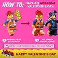 The LEGO Movie Saint Valentin 2