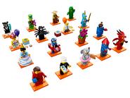 71021 Minifigures Série 18 - La fête 2