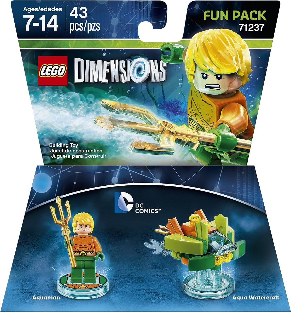 71237 DC Aquaman Fun Pack