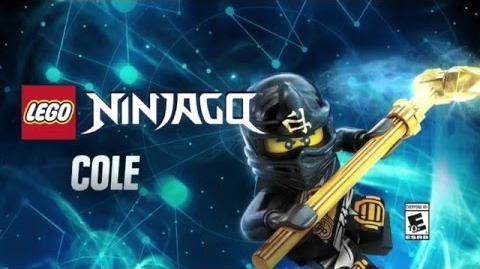 Character Spotlight Cole LEGO Dimensions