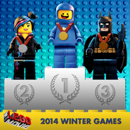 The LEGO Movie Winter Games