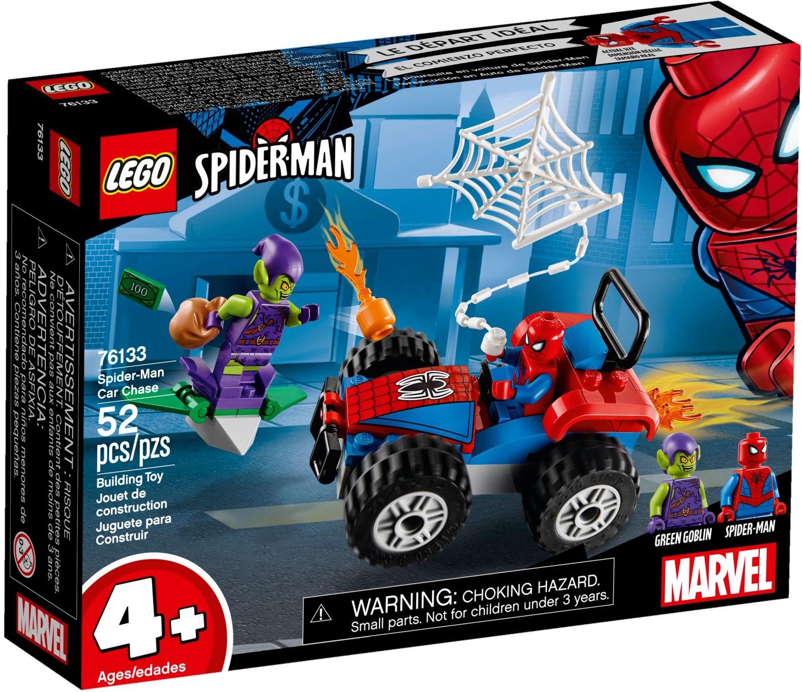 76133 Spider-Man: Car Chase
