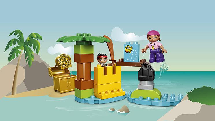 10604 Jake et l'île au trésor des pirates du pays imaginaire !