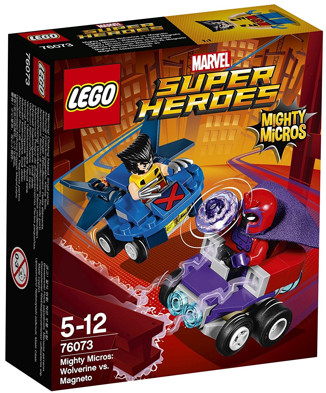 76073 Mighty Micros: Wolverine vs. Magneto