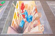 Leon Keer Hambourg Spider-Man