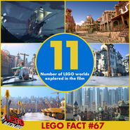 The LEGO Movie 11 mondes