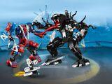 76115 Le robot de Spider-Man contre Venom