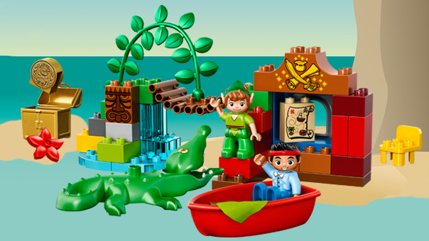 10526 Jake et Peter Pan