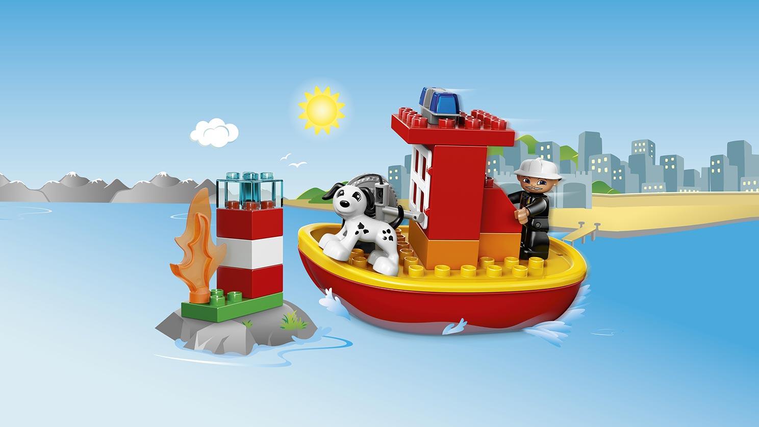 10591 Le bateau des pompiers