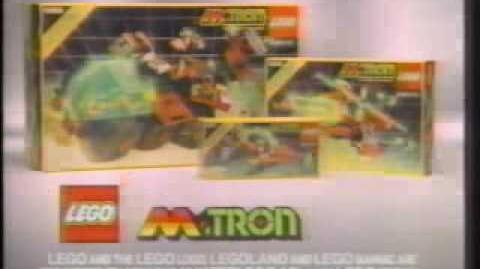 1990 LEGO M Tron commercial