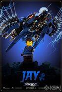 The LEGO Ninjago Movie Poster Jay Ign