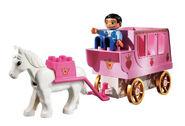 4821 Le cheval et le carrosse de la princesse 3