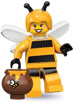 Bienenkostüm-Mädchen