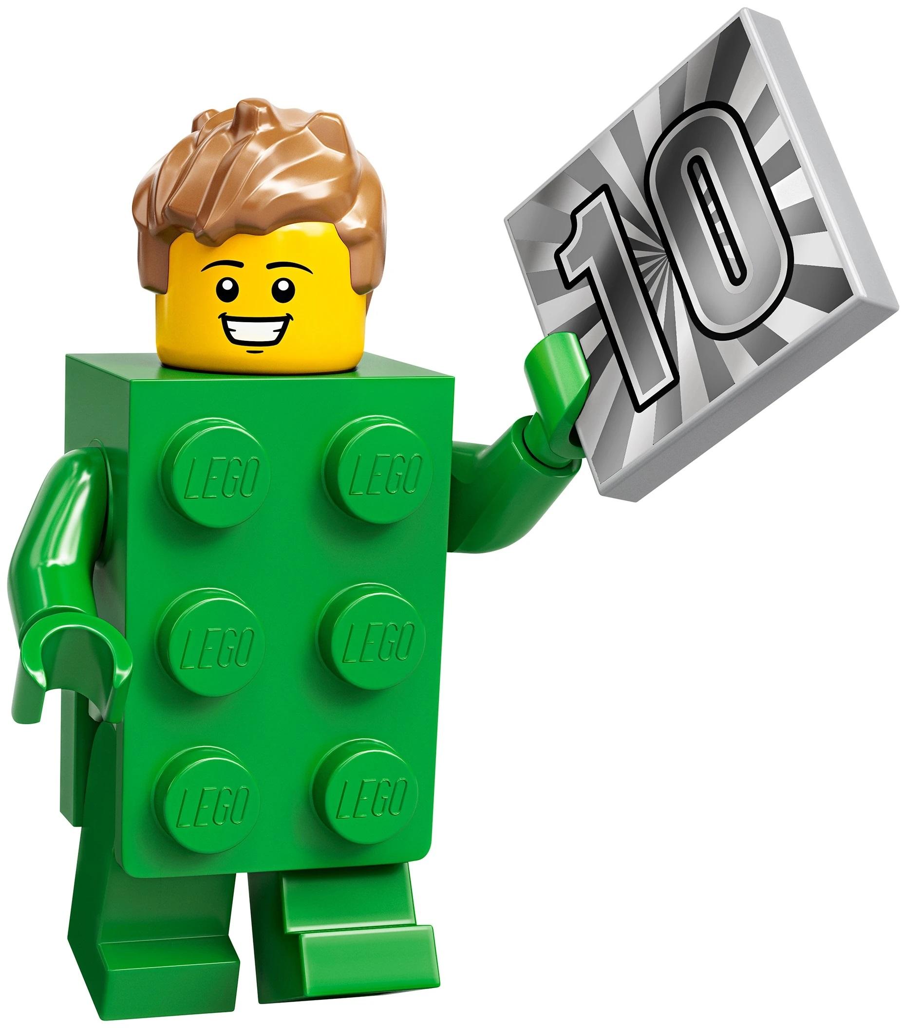 Brick Costume Boy