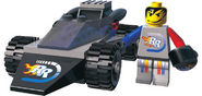 Rocket Racer manual render