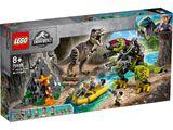 75938 T.Rex vs Dino-Mech Battle