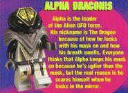 Lego mania magazine sep oct 1997 alpha draconis