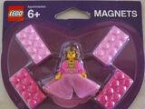 4494729 Minifigure Princess Magnet