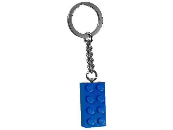 850152 Porte-clés Brique bleue