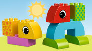 10554 Jeu de construction à roulettes pour tout-petits 3