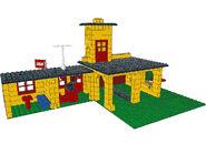 374-1 - Fire Station interior