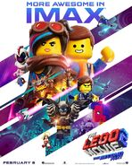 The LEGO Movie 2 The Second Part IMAX Poster