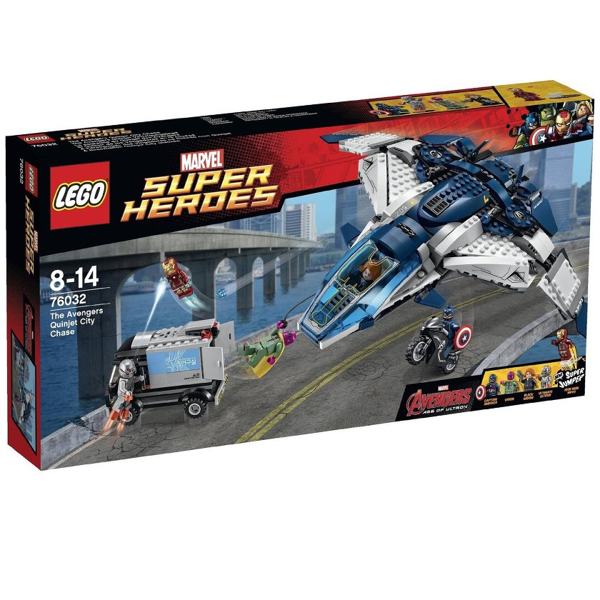 76032 The Avengers Quinjet Chase