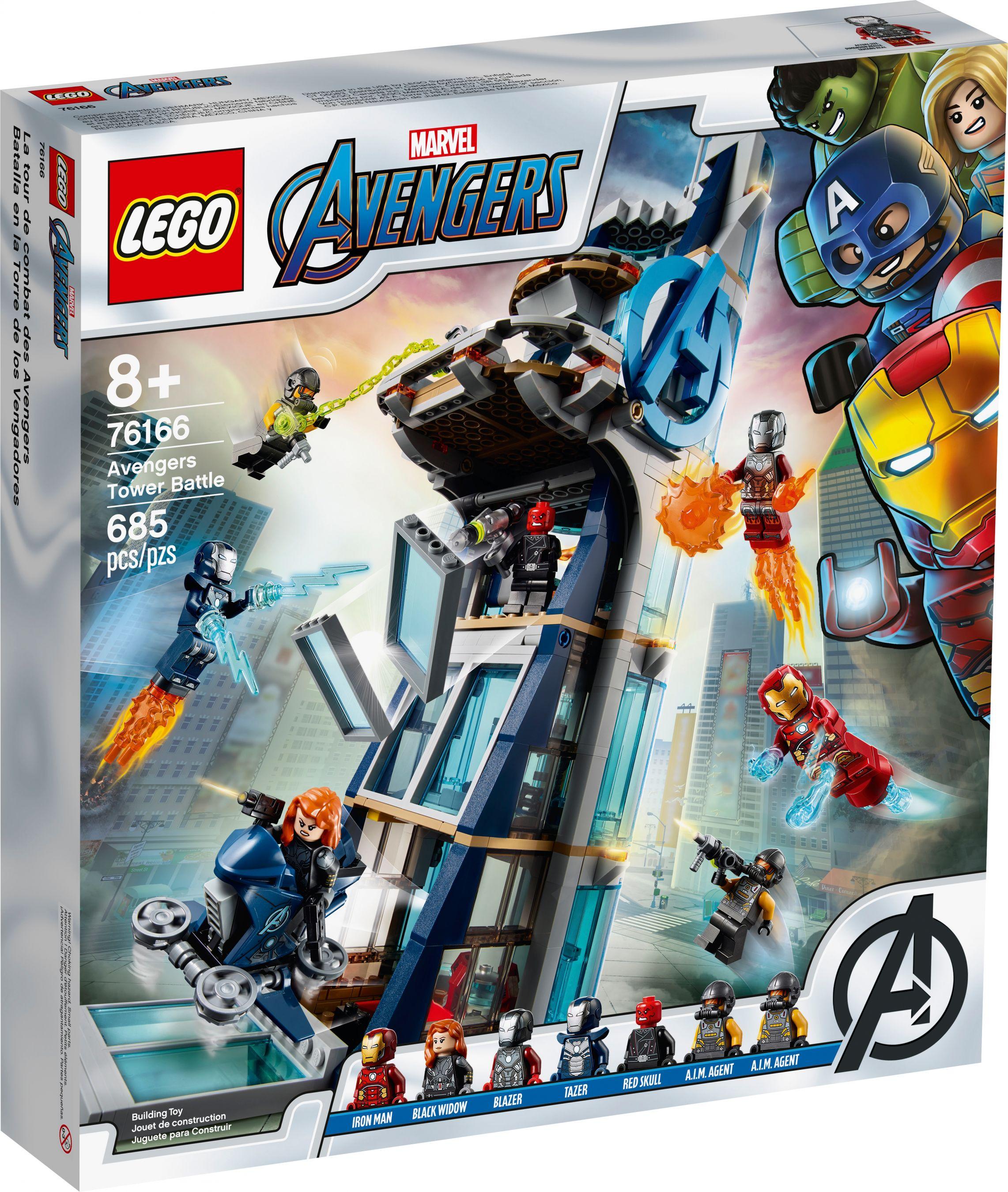 76166 Avengers Tower Battle
