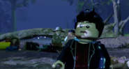 LEGO Jurassic World The Videogame T-rex in the tent