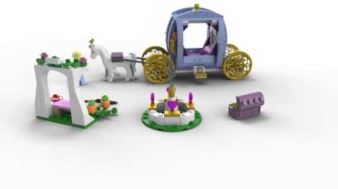 Lego Disney Princess 41053 Cinderella's Dream Carriage Lego 3D Review
