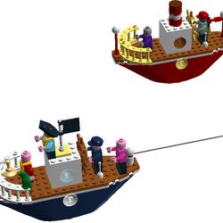 Custom:8008 The Big Boat Race
