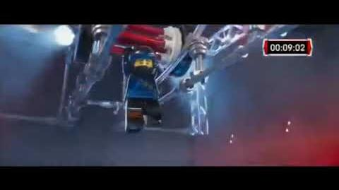 The Lego Ninjago Movie Tv Spot 12 - American Ninja Warrior