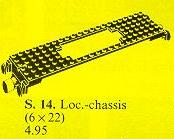 14 Train Motor Plate with Coupler