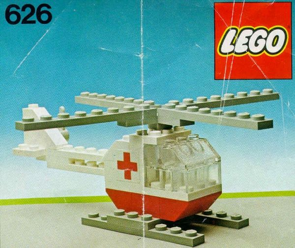 626 Red Cross Helicopter