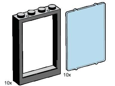 B001 Window Pieces