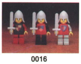 0016 Castle Mini-Figures