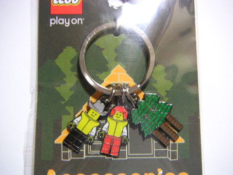 4276421 PO Wildwood Metal Key Chain