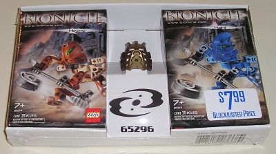 65296 BIONICLE Twin-Pack with Gold Mask