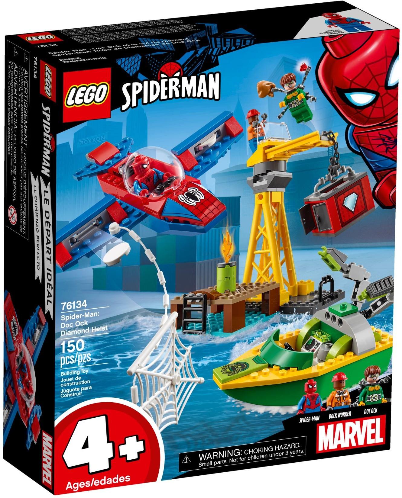 76134 Spider-Man: Doc Ock Diamond Heist
